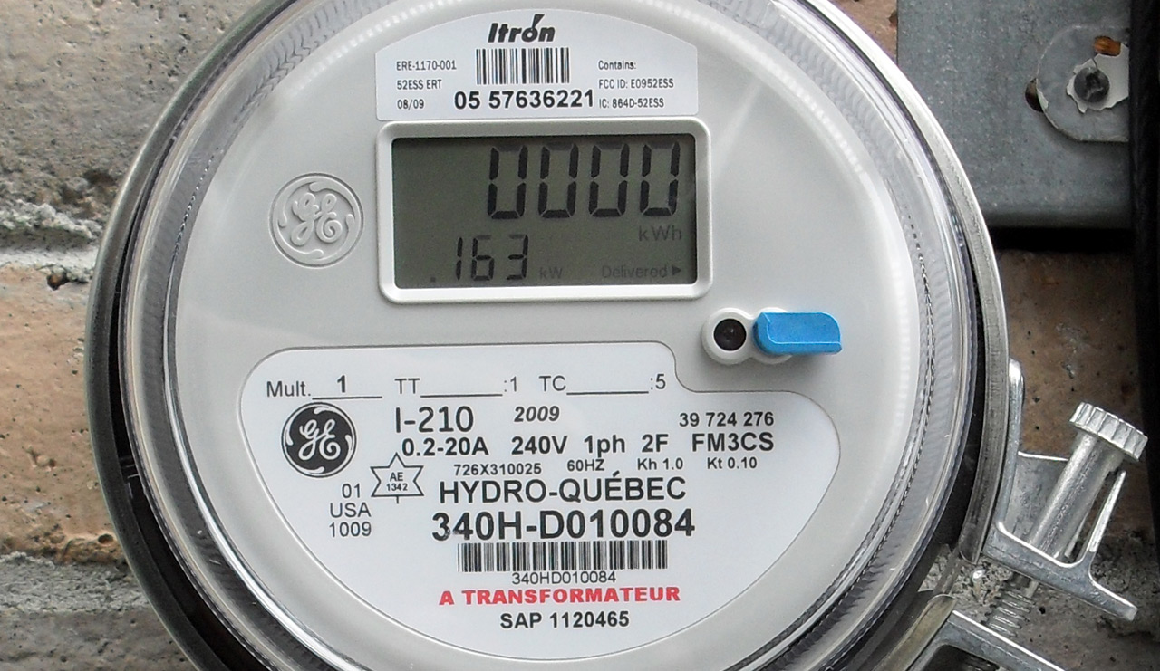 Electronic Electric Meter : Power meters usage
